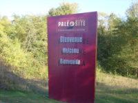 La manche du Paléosite de St Cézaire en Charente Maritime, le 10 et 11 octobre 2020