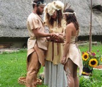 Rassemblement préhistorique au Village Lacustre en Suisse du 31 juillet au 08 août 2021.