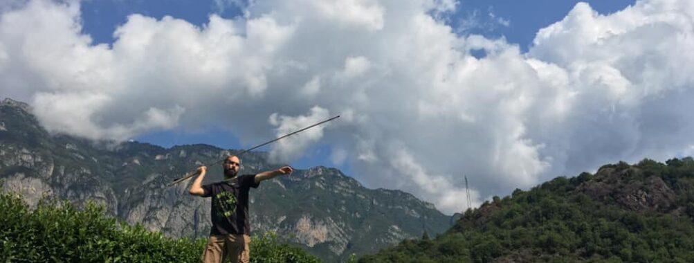 Journal de la manche de l'Archéopark de Boario Terme Italie le 07 et 08 août 2021