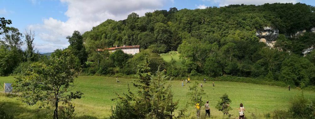 Journal de la manche du Mas d'Azil en Ariège Pyrénées le 07 et 08 août 2021.